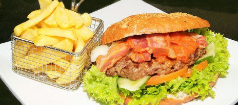 Big Ben - Burger mit Bacon